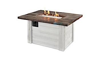 Outdoor GreatRoom Alcott Rectangular Gas Fire Pit Table | ALC-1224