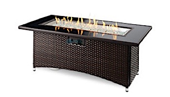 Outdoor GreatRoom Balsam Montego Linear Gas Fire Pit Table | MG-1242-BLSM-K