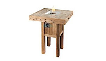 Outdoor GreatRoom Westport Pub Height Square Gas Fire Pit Table | WP-1616