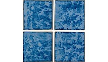 National Pool Tile Tropics 3x3 Series | Aqua | TRO-AQUA