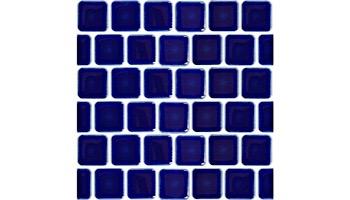 Fujiwa Tile PEB Series 1x1 | Cobalt Blue | PEB-193