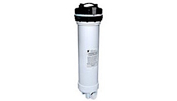 """Waterway 7"""" Top-Load Extended Cartridge Filter Assembly with Bypass Valve and 10 Tablet Brominator   100 Sq Ft 1-1/2""""   500-9950"""