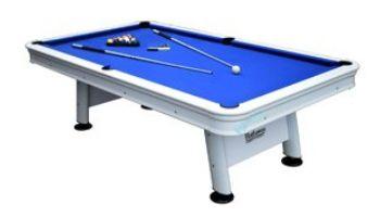 Hathaway Alpine 8-Foot Outdoor Pool Table with Aluminum Rails and Waterproof Felt   BG3147