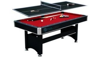 Hathaway Spartan 6-Foot Pool Table with Tennis Table Top   NG5031 BG50310