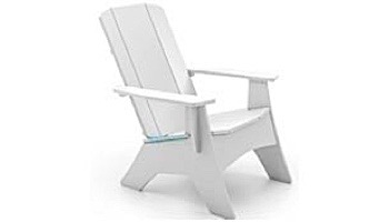 Ledge Lounger Mainstay Collection Outdoor Adirondack   White   LL-MS-A-WH