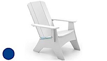 Ledge Lounger Mainstay Collection Outdoor Adirondack | White | LL-MS-A-WH