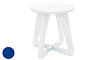 Ledge Lounger Mainstay Collection Outdoor Stool   White   LL-MS-SL-WH