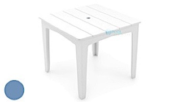 """Ledge Lounger Mainstay Collection 36"""" Square Outdoor Dining Table 