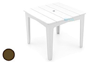 """Ledge Lounger Mainstay Collection 48"""" Square Outdoor Dining Table   Navy   LL-MS-DT-48SQ-NY"""
