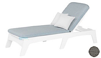 Ledge Lounger Mainstay Collection Outdoor Chaise Cushion | Standard Fabric Oyster | LL-MS-C-C-STD-4642
