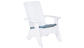 Ledge Lounger Mainstay Collection Outdoor Adirondack Seat Cushion | Standard Fabric Oyster | LL-MS-A-SC-STD-4642