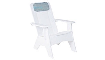 Ledge Lounger Mainstay Collection Outdoor Adirondack Headrest Cushion | Standard Fabric Oyster | LL-MS-A-P-STD-4642