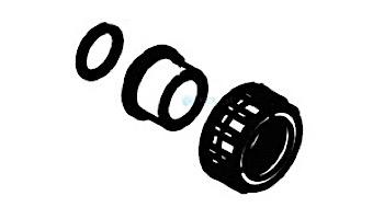 "Waterco MultiCyclone Union Adapter Half Black 1"" (25mm)   1222252BLK"