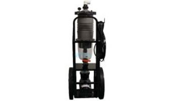 Waterco Ultra-Vac Dual Filtration Portable Cart   1HP Pump 75 Sq. Ft. MultiCyclone 12 Ultra Cartridge   16V1275