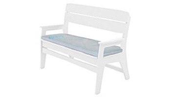 Ledge Lounger Mainstay Collection Outdoor Bench Cushion   Standard Fabric Oyster   LL-MS-BA-C-STD-4642