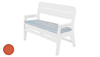 Ledge Lounger Mainstay Collection Outdoor Bench Cushion | Standard Fabric Oyster | LL-MS-BA-C-STD-4642