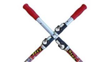 Skimlite 6000 Snaplite Series Telepole with Button Lock Pole | 6' to 12' | 2-Pieces | 6012