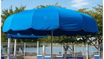 Anchor Industries FUNbrella Classic Permanent Umbrella Shade Structure | 20' Round | CLASSIC20
