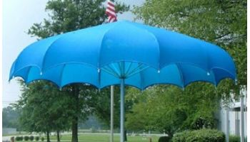 Anchor Industries FUNbrella Shark Permanent Umbrella Shade Structure | 20' Round | SHARK20