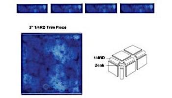 National Pool Tile Akron Field Beak Trim | Royal Blue | KAK305 BEAK
