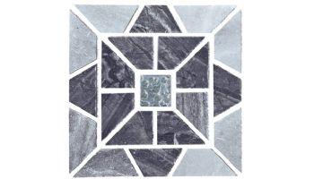 National Pool Tile Quartzite Pool Tile | Golden Harvest | Pinwheel Mosaic