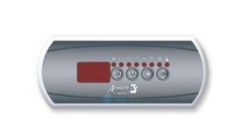 Gecko IN.K200 Spaside 2-Pump Key Pad | 0607-008002
