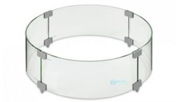 """Outdoor GreatRoom Glass Wind Guard 