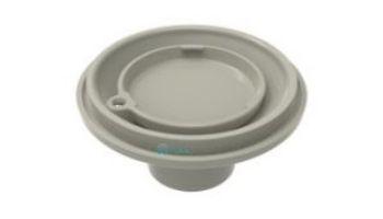 "Color Match 2""S Adjustable Pebble Top Floor Inlet   Light Gray   PTFR-03"
