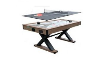 Hathaway Excalibur 6-Foot Air Hockey Table with Table Tennis Top   BG50337