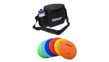 Hathaway Disc Golf Starter Set with 6 Discs and Case   BG5038