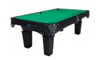 Hathaway Cobra 8-Foot Slate Pool Table   Burgundy Felt   NG2687BR