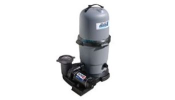 Waterway ClearWater II Above Ground Pool Standard Cartridge Filter System | 1HP Pump 75 Sq. Ft. Filter | 3' NEMA Cord | 520-5107-6S