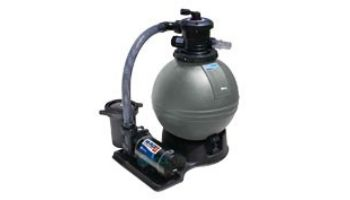 """Waterway ClearWater Above Ground Pool 16"""" Sand Standard Filter System   1HP 2-Speed Pump 1.4 Sq. Ft. Filter   3' NEMA Cord   522-5200-6S"""