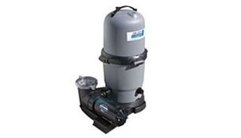Waterway CSA ClearWater II Above Ground Pool Deluxe Cartridge Filter System | 1HP Pump 100 Sq. Ft. Filter | FCSC10010-25S