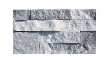 National Pool Tile Natural Ledgerstone 6x16 Corner | Gray Marble | LDGR-MARBLE CRN