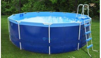 "Splash-A-Round Pools Quik Swim Metal Frame Pool Package   16' Round 48"" Tall   QS1648"