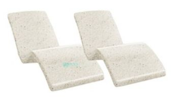 SR Smith Destination Series In-Pool Lounger   Set of 2   Seashell   DS-1-61-2PK