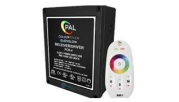 PAL Lighting Color Touch PCR-4 Remote Control Transformer with OEM Cloning for Evenglow and PAL-4 LED Multi-Color Lights   60W 12VDC   42-PCR-4U-CL-E