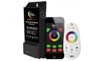 PAL Lighting Color Touch PCR-2D Remote Control Transformer with OEM Cloning and WiFi for Evenglow and PAL-4 LED Multi-Color Lights   35W 12VDC   42-PCR-2DW-35