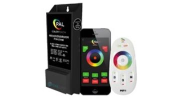 PAL Lighting Color Touch PCR-2D Remote Control Transformer with OEM Cloning and WiFi for Evenglow and PAL-4 LED Multi-Color Lights   55W 12VDC   42-PCR-2DW-60-E
