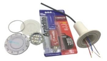 PAL Lighting Full Lamp Repair Kit for PAL-2T4 and PAL-2L4 Series Lights   4 Wire   42-4FLRK