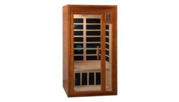 Golden Designs Dynamic Barcelona 1-2 Person Low EMF FAR Infrared Sauna | Hemlock | DYN-6106-01
