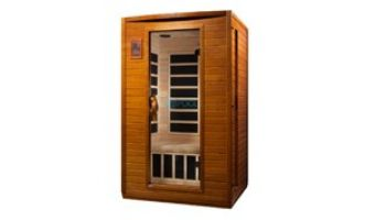 Golden Designs Dynamic Andora 2-Person Low EMF FAR Infrared Sauna | Hemlock | DYN-6202-03