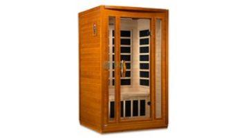 Golden Design Dynamic San Marino 2-Person Low EMF FAR Infrared Sauna | Hemlock | DYN-6206-01
