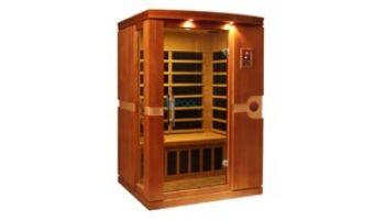 Golden Designs Dynamic Venice 2-Person Low EMF FAR Infrared Sauna | Hemlock | DYN-6210-01