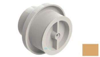 "AquaStar Light Niche/Return Fitting with Cap | Fits Inside 2"" Pipe | White | 3701-CS"