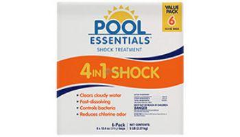 Pool Essentials 4-in-1 Shock Treatment   5LB   25106ESS