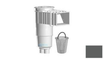 "AquaStar Flow Star Skimmer with Flush Face 4"" Extension, Float Assembly, Basket, Lid and Collar with 9"" Ultra Basket   White   SKR14101-L"
