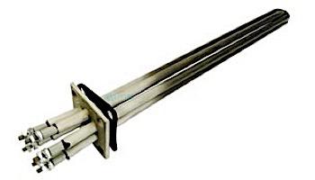Coates Heater 12kW Element 480V with 4-Bolt Flange & Gasket   20006015