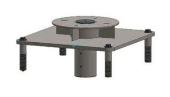 Aqua Creek Semi-Recessed Concrete Deck Anchor Kit   F-77SSA